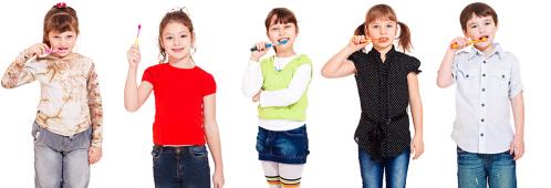 La llegada de los dientes de leche y el descarte del biberón