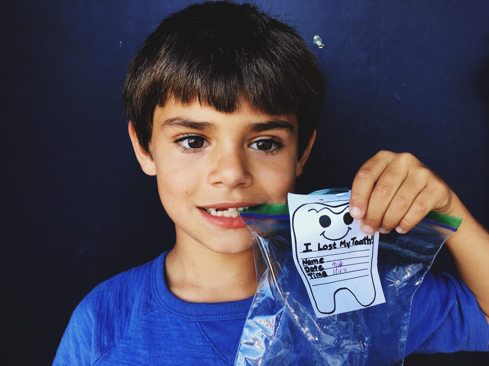 El cuidado de los dientes de los niños